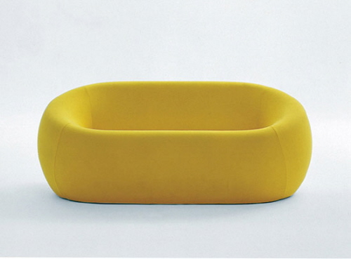 Yellow Furniture Seating B&B Italia