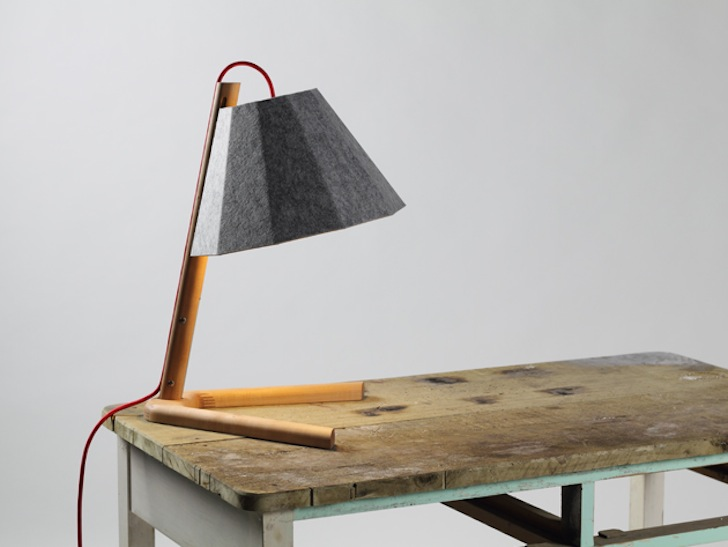 frankie table felt lamp