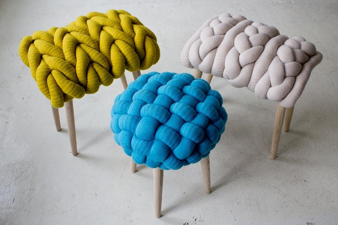knitted stool 5