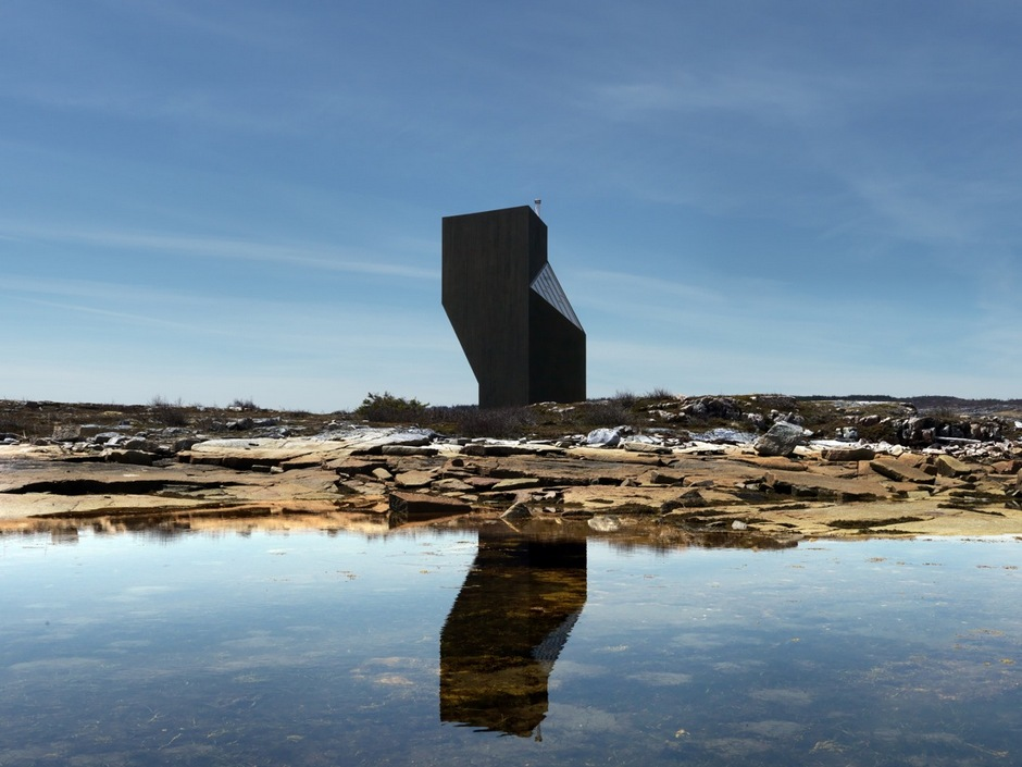 Tower studio fogo island
