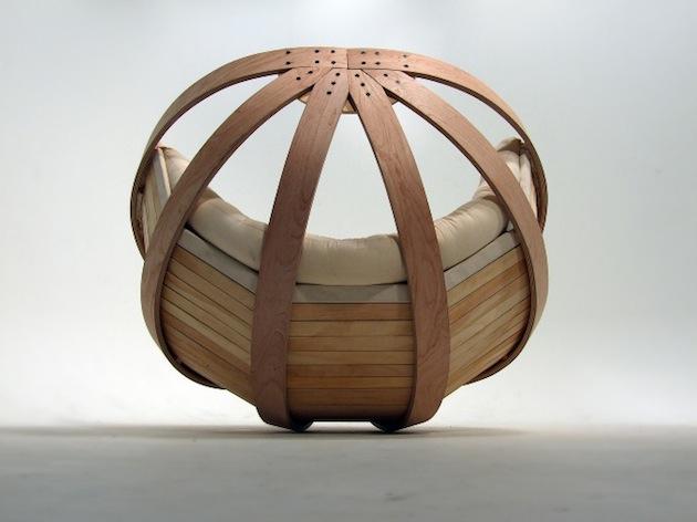 cradle rocking chair 2