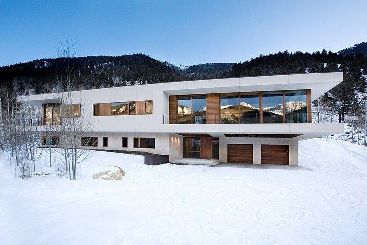 linear house aspen 1