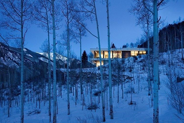 linear house aspen 12