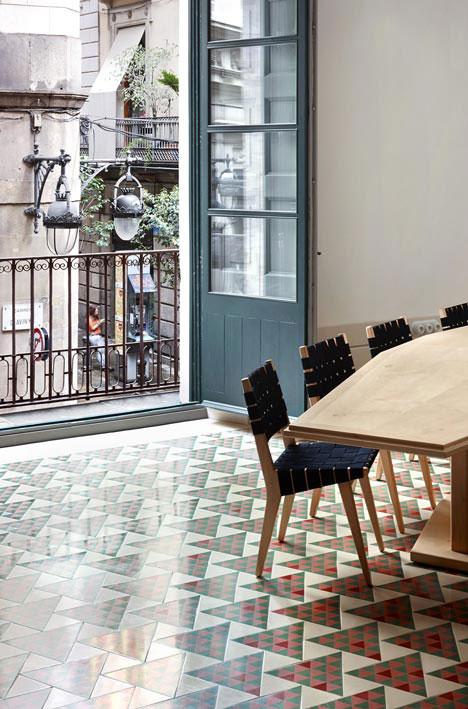 mosaic floor barcelona 1