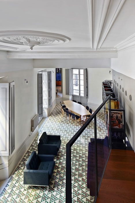 mosaic floor barcelona 2