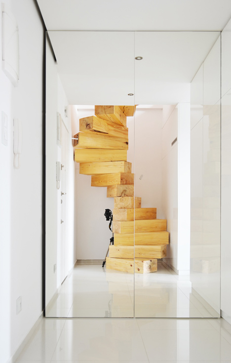 wooden staircase 2