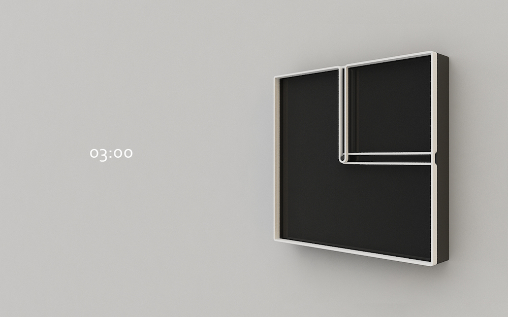 Square-Frame-Clock-at-03.00