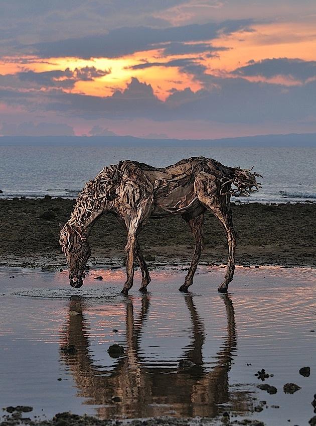 driftwood horses 2