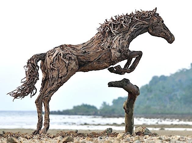 driftwood horses 4