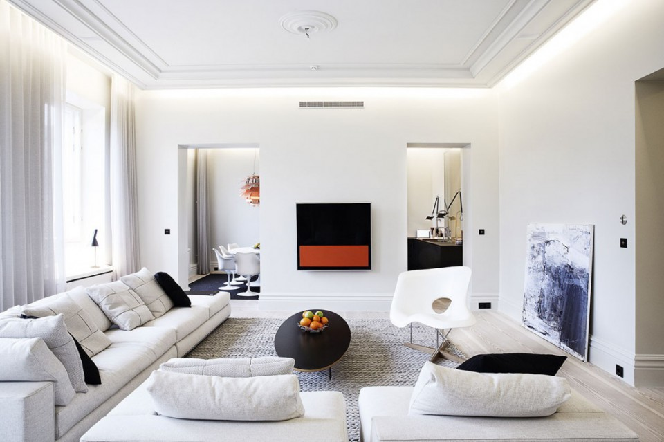 Apartment-white-living-room