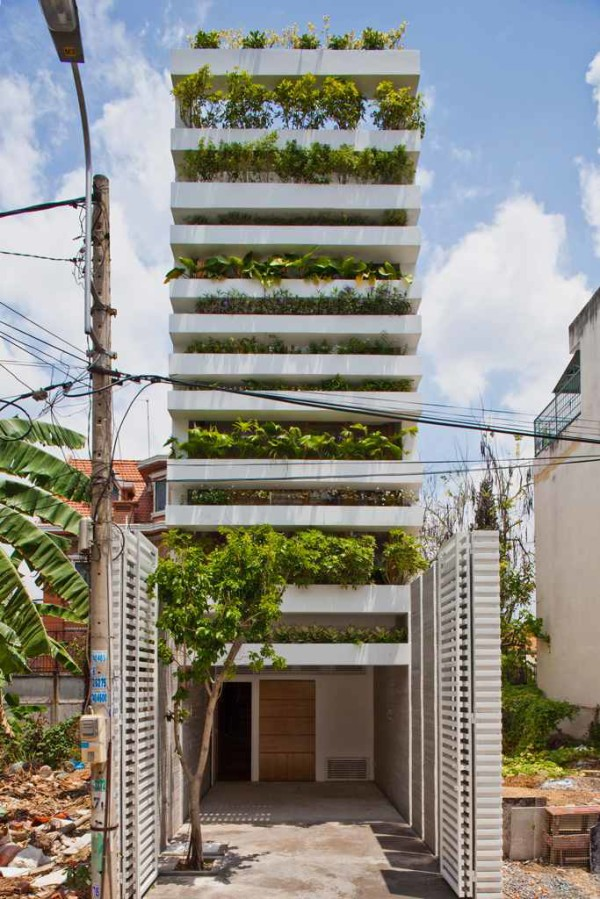 house with green facade 2