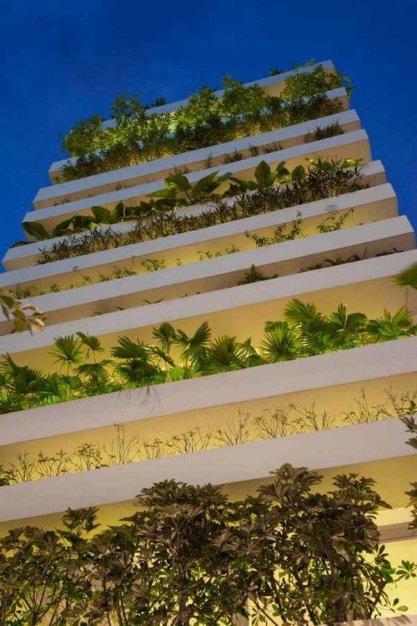 house with green facade 3
