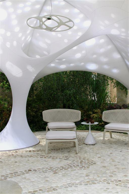 lounges-of-Beautiful-Textile-Shade-Structure-that-Beautify-Your-Garden