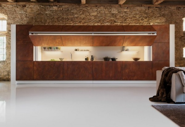 opened-Modern-Kitchen-Design-that-Can-be-Hidden-600x413