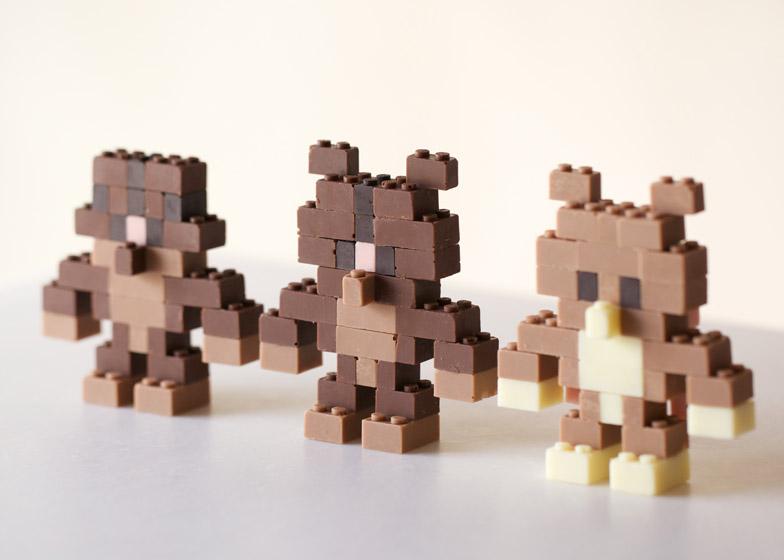 chocolate lego 6