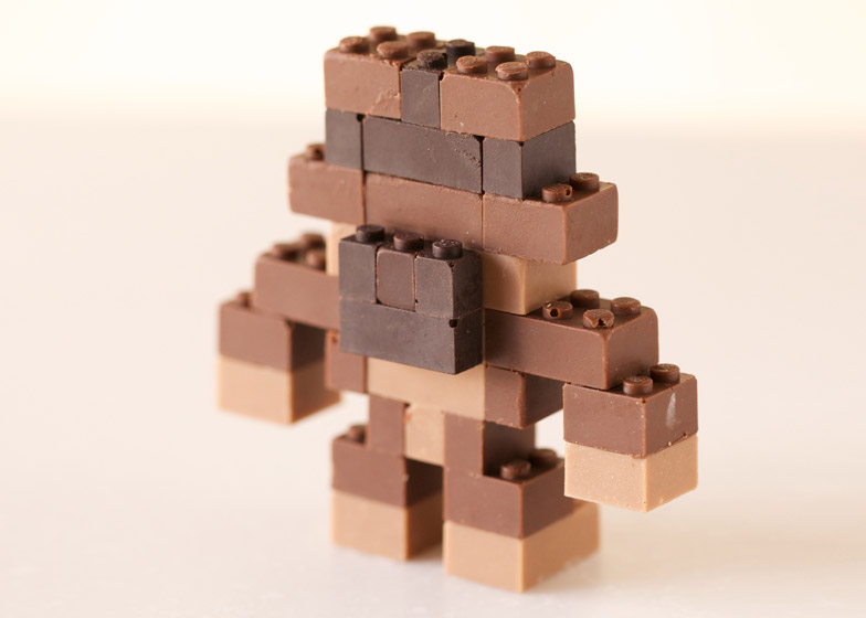 chocolate lego 8