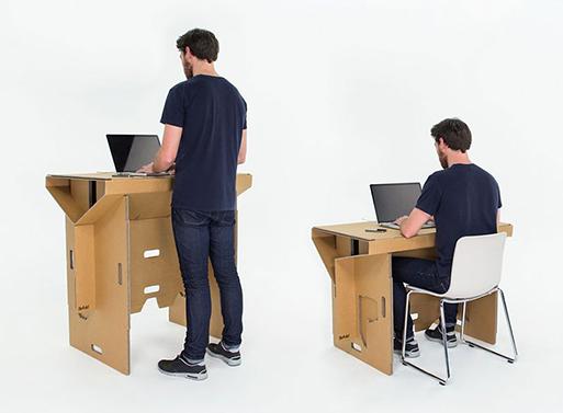 cardboard desk 2