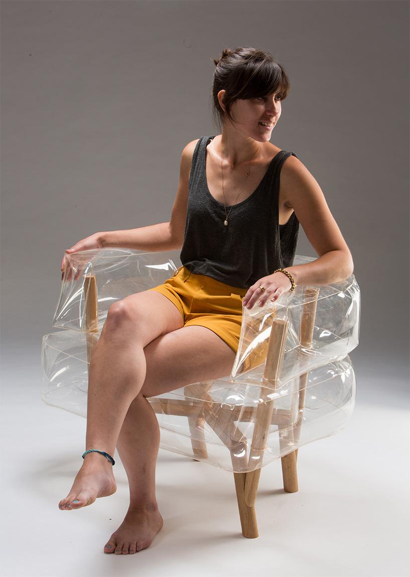 anda armchair by tehila guy