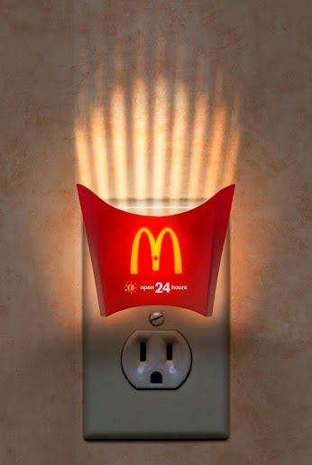 mc donalds lamp