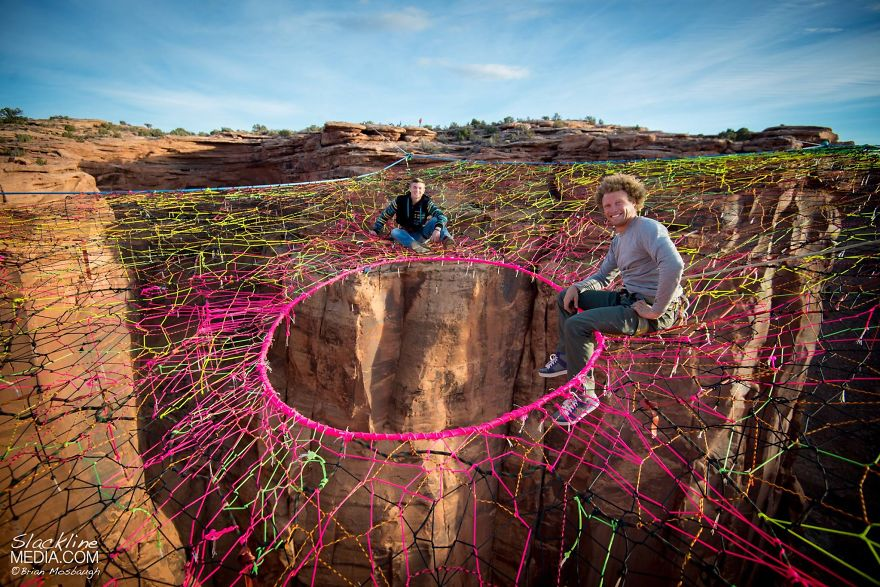 pentagon-handmade-net-over-canyon-moab-monkeys-brian-mosbaugh-2__880