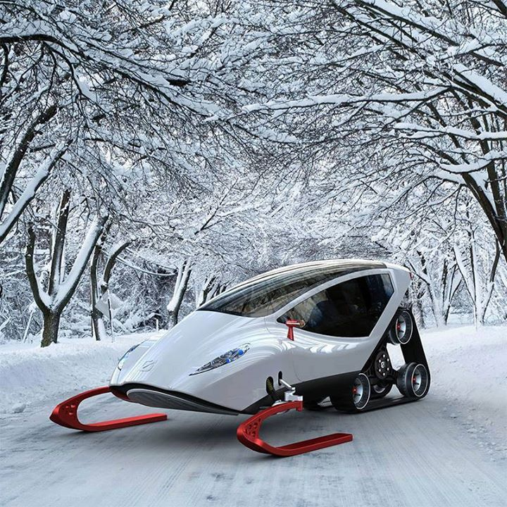Snow Crawler is the Lamborghini of Snowmobiles