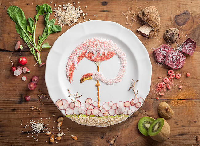 Fancy food art by anna keville joyce for Artistic argentinean cuisine