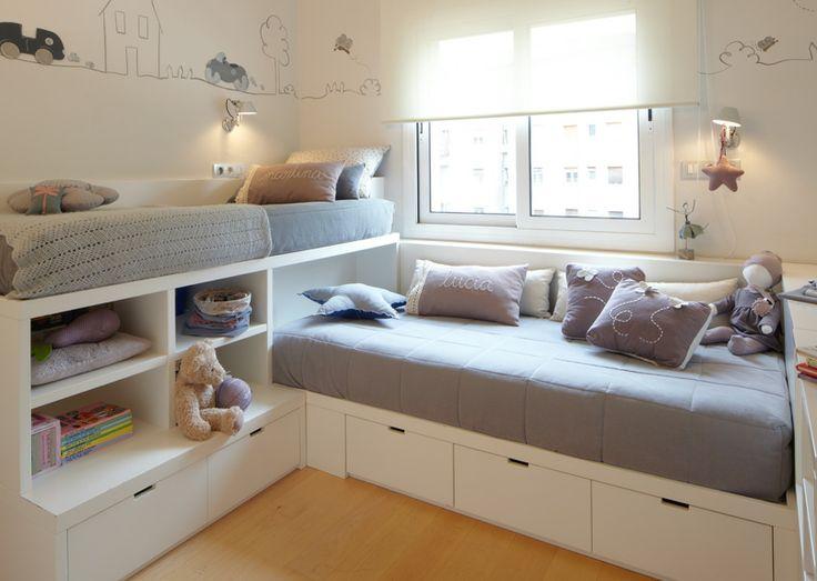 Shared bedroom ideas for kids for Children sharing bedroom ideas