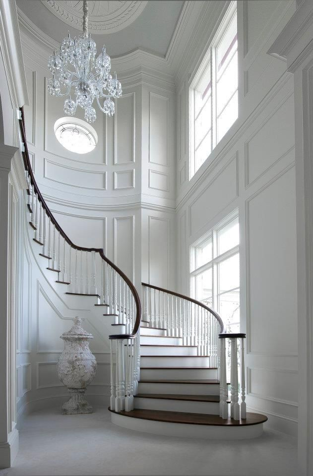 spectacular staircase classy