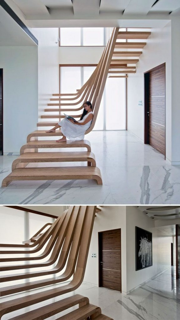 spectacular staircase modern