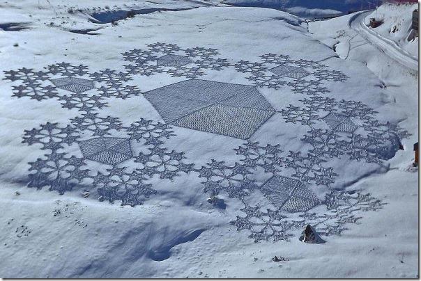 snow art 13