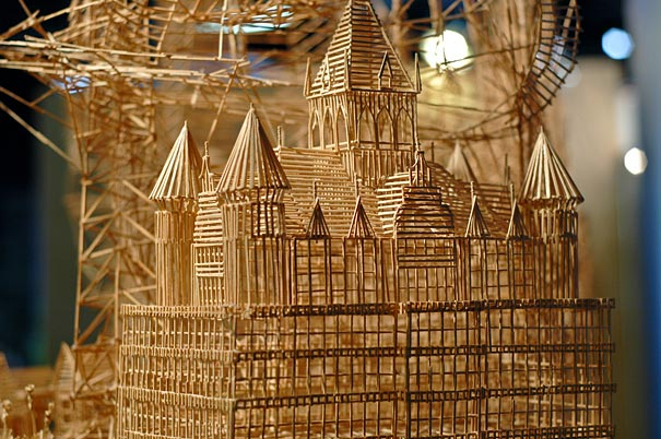 toothpicks sculpture 2