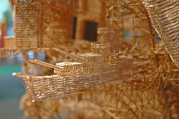 toothpicks sculpture 6