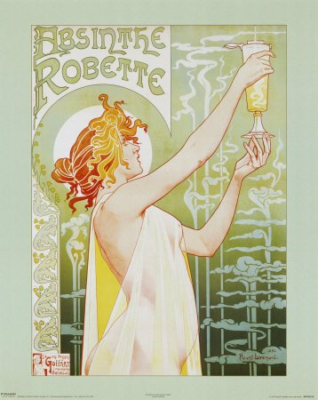 T. Privat-Livemont Absinthe Robette