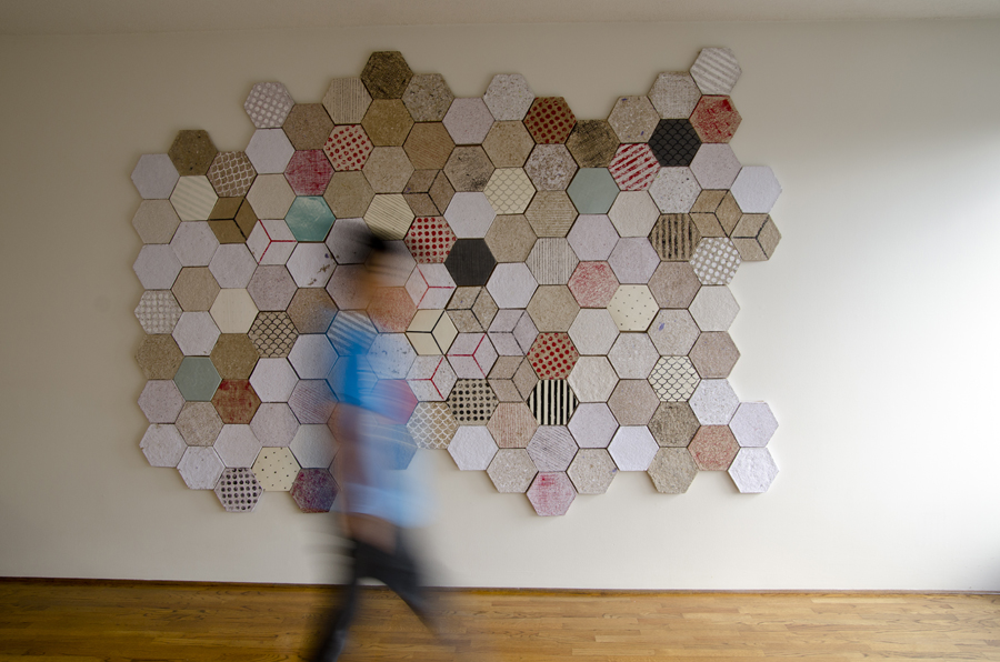 dear human wallpapering 1