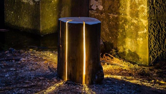 log lamp 4