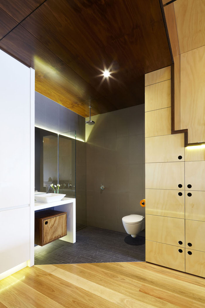 plywood bathroom 2