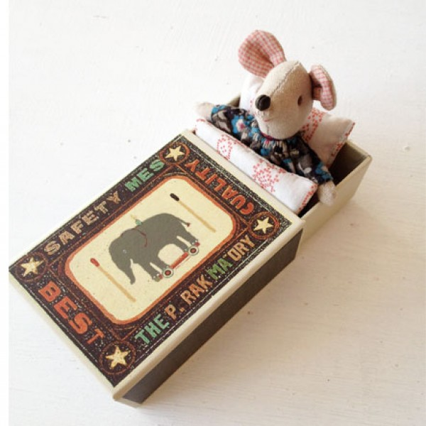Maileg Mice In Matchbox