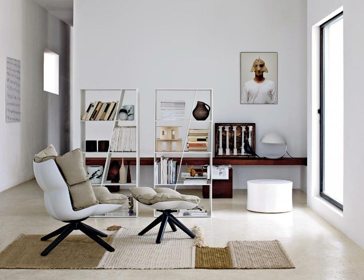 designer sessel husk indoor outdoor, husk armchair for b&b italia, Möbel ideen