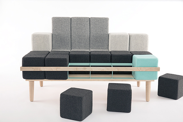 Modular seating solution for Modern furniture for less