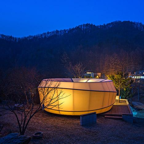 Glamping Warm Shaped Tents South Korea