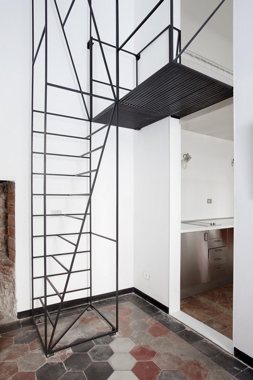 Minimalist staircase milan