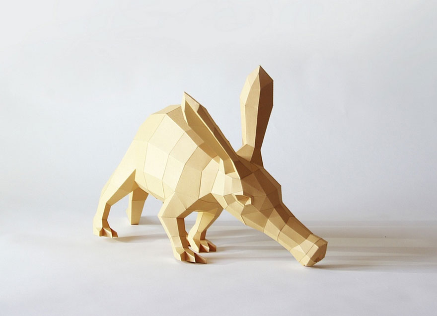 Geometric Paper Sculptures