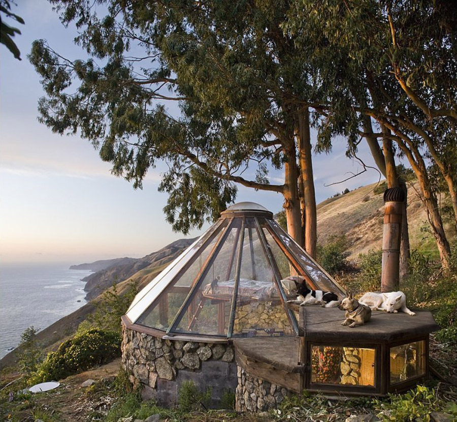Glass Teepee House By Mickey Muenning