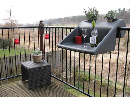 Balkonzept great idea for tiny balcony