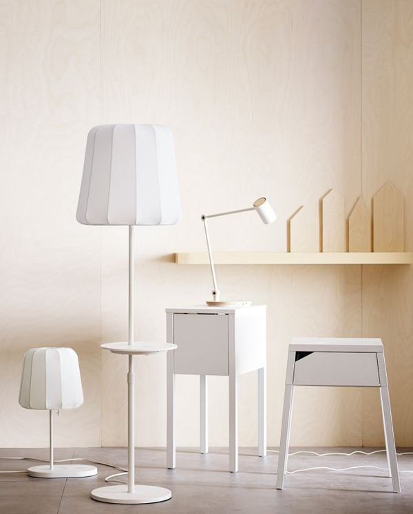 Ikea S Wirlessly Charging Lamp